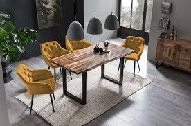 esszimmer essgruppe 5 tlg wenge gelb günstig möbel küchen büromöbel kaufen froschkönig24