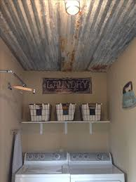 Cheap Basement Ceiling Ideas by Best 25 Barn Tin Wall Ideas On Pinterest Tin Walls Galvanized