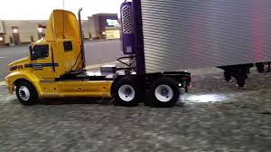 100 Penske Semi Truck Rental Custom Tractor In Scale 114 YouTube
