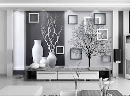 Free Shipping 3D Wall Painting Modern Black White Art Vase Living Room Dining TV Backdrop