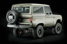 Icon Ford Bronco Rear Three Quarter | Vehicular Vehemence | Ford ...