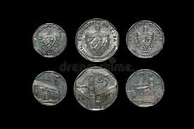 Download Cuban Coins Stock Image Of Reverse Black Money