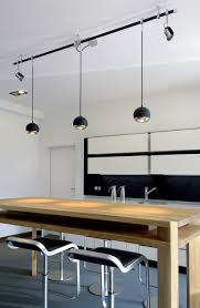 cool track lighting for a kitchen pinteres