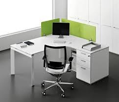 Modern Office Interior Design With Single Entity Desk Collection By Antonio Morello