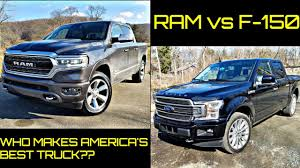 100 Who Makes The Best Truck F150 Vs Ram Is F150 Still Undisputed King Of Pickup