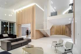 100 Penthouse Design A Beirut With A Floating Staircase Wooden Skin Milk