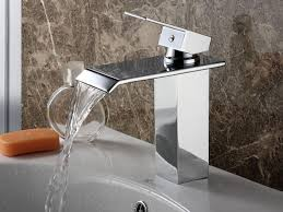 Touchless Bathroom Faucet Brushed Nickel by Waterfall Bathroom Faucet Brushed Nickel Rozin Brushed Nickel