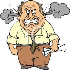 Angry People Clipart