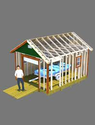 12x12 Gambrel Shed Plans by This 12x16 Shed With Gable Style Roof Has A 6 U0027 Wide 7 U0027 Tall Roll