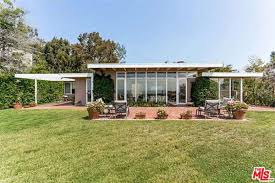 100 Rodney Walker Architect Case Study House 18 On National Register For Sale As Possible