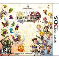 theatrhythm final fantasy 3ds unlimited demo kawaii kakkoii sugoi
