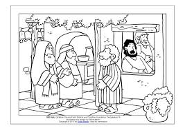 Matthew The Tax Collector Coloring Page Pages Of Jesus Sees