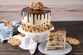 cookie oder torte mach chocolate chip cookie cake