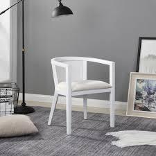 b d home rattan sessel skandinavisch weiss lesestuhl wohnzimmer korbsessel rattan fernsehsessel bis 150kg arm chair relax chair