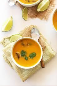 Pumpkin Butternut Squash Soup Vegan by Tom Kha Gai With Butternut Squash Minimalist Baker Recipes