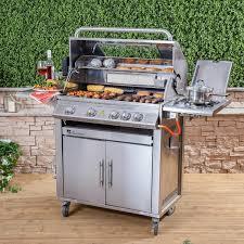 barbecue cuisine everest 4 burner gas barbecue