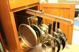 Pan Storage Cabinet Cookware Storage Ideas Image Pot And Pan