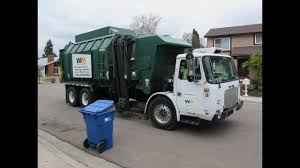 Waste Management Garbage Trucks Of San Diego - Part II (East County ...