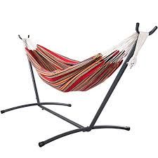 Sundale Outdoor Heady Duty Coated Hammock Stand 9FT Space Saving