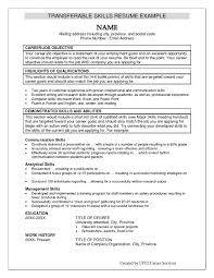 Skills Resume Example For Getting Job Sample Resumes Skill Education Work History And Abilities Section