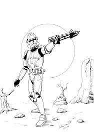 Star Wars Rebels Zeb Coloring Pages Lego Clone Trooper Free Printable Sheets The Force Awakens