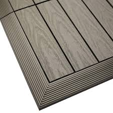 Trex Deck Boards Home Depot by Newtechwood Ultrashield 12 In X 12 In X 1 Ft Quick Deck Outdoor