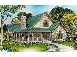 Country House Plan Front Of Home