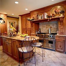 Rustic And Contemporary Simple Country Kitchen