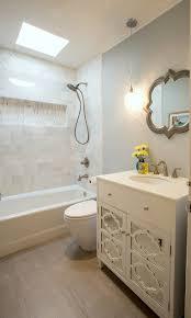 vintage modern california cottage eklektisch badezimmer