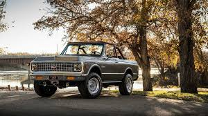 100 Blazer Truck Seak And Destroy Ringbrothers Reveals Restomod K5 At SEMA