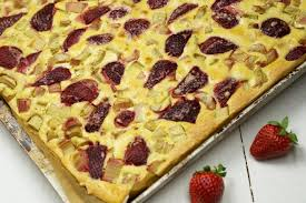 erdbeer rhabarber blechkuchen aus dem thermomix will mixen de
