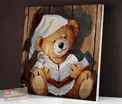 tableau ourson chambre bébé tableau pour chambre bebe garcon avec des tableau ourson chambre
