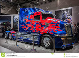 Optimus Prime Transformers Truck Editorial Photography - Image Of ...