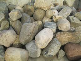 Dresser Trap Rock Boulders by Bulk Landscape Materials New Richmond Wi