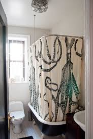 Octopus Shower Curtain eclectic atlanta with atlanta home builders