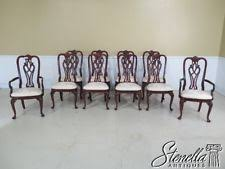 Ethan Allen Mahogany Dining Room Table by Ethan Allen Dining Room Furniture Mahogany Ebay