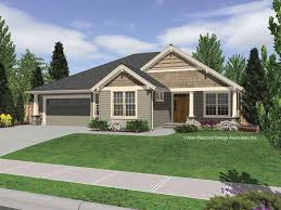 Single Story Building Plans Photo by Single Story House Plans With Porches Vaulted Single Story Plan