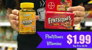 100 Flint Stone For Sale NEW Stones Coupon Vitamins ONLY 199 At Kroger Kroger Krazy