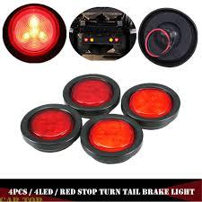 100 Lights For Trucks US 1117 23 OFF4PCS Rear Light Truck Round LED Rear Parking Trailers Side Marker Trailersin Truck Light System