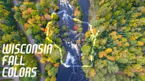 Swans Pumpkin Farm Milwaukee by Wisconsin Fall Colors Autumn Aerial Footage From Around The