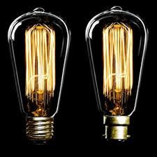 10 x 60w antique filament light bulb ls vintage pear squirrel