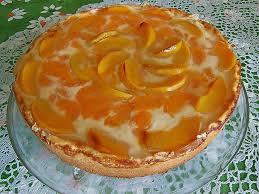 vanille schmand kuchen mit mandarinen und aprikosen