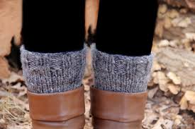 knitted boot cuffs wake and whimsy