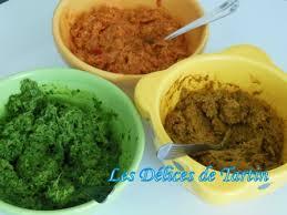 pâtes de curry verte et jaune à ma façon les délices de