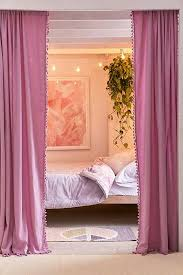 Plum And Bow Pom Pom Curtains by Rugs Curtains Tapestries On Sale Urban Outfitters
