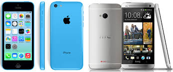 iPhone 5c vs HTC e smartphone parison review Tech Advisor