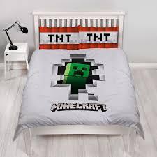 bettbezug kissen kinder spiel minecraft schlafzimmer range