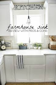 Farmhouse Sinks All You Need To Know Pros And Cons How Find