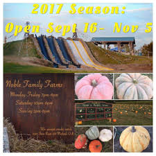 Ohio Pumpkin Festivals 2017 by Noble Family Farms Home Facebook