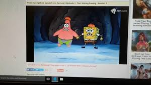 spongebob squarepants that sinking feeling youtube